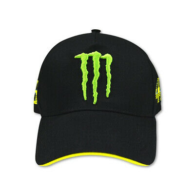 SALE!! VR46 MONSTER CAP Black Valentino Rossi The Doctor 46 Official Merchandise