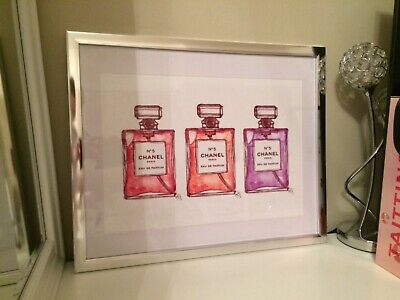A3 CHANEL PRINT POSTER DECOR  Perfume Bottle Print