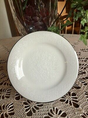 Noritake Ivory China 7192 Affection Pair Of Bread And Butter Plates