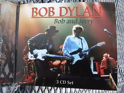 Jerry Garcia And Bob Dylan-3 Disc Set-Brand New-Unused-Mint-Import Cheap
