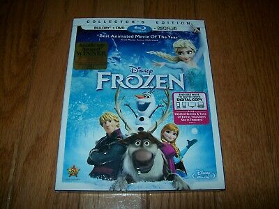Brand New Sealed. Disney's Frozen on Blu-ray/DVD combo pack. Elsa and Anna!