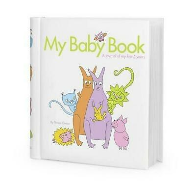 My Baby Book: A journal of my first 5 years by Terese Oman new baby shower gift