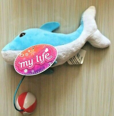 """My Life as Dolphin Plush Pets Beach Ball for 18/"""" American Girl Doll NWT 2018"""