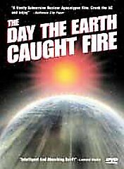 The Day the Earth Caught Fire (DVD, 2001) Classic Sci-Fi Doomsday Horror Nuclear