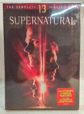 Supernatural - Complete 13th Season (DVD, 2018) Sealed