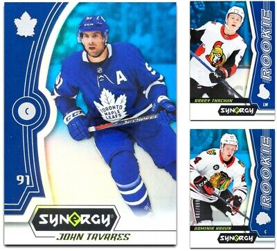 2018-19 UD Synergy Blue BASE & ROOKIES **** PICK YOUR CARD **** From The LIST