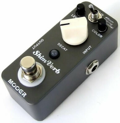 Mooer Shim Verb Reverb Pedal 3 reverb modes/Room/Spring/Shimm True Bypass