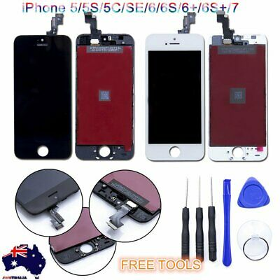 iPhone 5 5S 6 6S 6 Plus 7 LCD Screen Full Replacement Display Digitizer Assembly