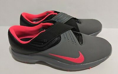4bb72bc013a NIKE TW  17 Tiger Woods Golf Shoes Grey Pink Punch Black SZ 880955 ...