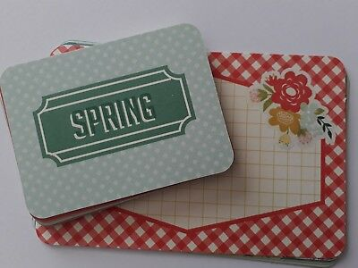 Becky Higgins - Project Life - Themed Cards - Spring- partial kit