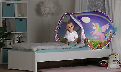Tenda da letto per bambini Sleep Fun con luce a LED incorporata Unicorno bambina