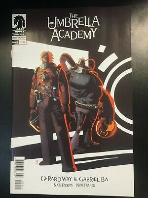Umbrella Academy Hotel Oblivion 2A First Print Gerard Way Gabriel Ba NETFLIX NM