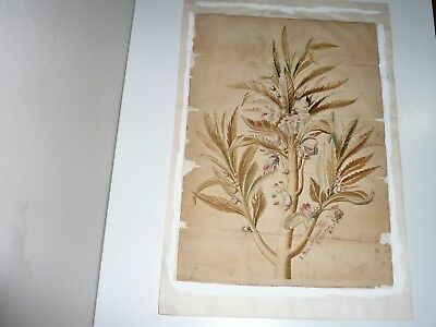 Early Dutch Water Colour Dated 1820 & Signed