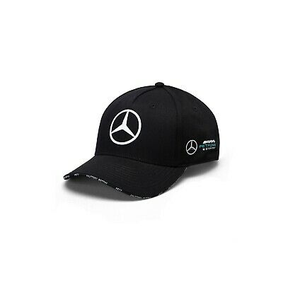 Mercedes AMG Petronas Motorsport Official Adults Bottas BB Cap - 2019 - Black