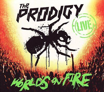 The Prodigy Live - World's On Fire CD+DVD Digipak (2011) Nuovo/Sigillato Worlds