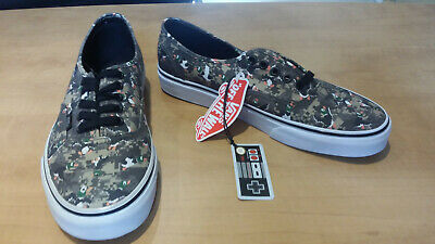 f7f37b3d56 Vans Nintendo Duck Hunt Camo Skate Shoes Size 9 New With Tags Unworn NWT