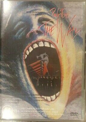 Pink Floyd The Wall Rare Dvd Roger Waters Alan Parker Film Cult 80S Music Video