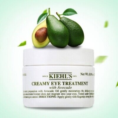 NEW KIEHL'S Creamy Eye Treatment with Avocado Full size .5oz/14g *FREE SHIP*