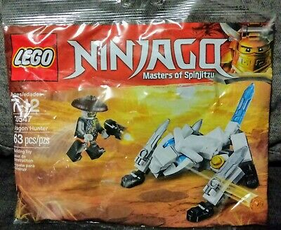 LEGO 30547 NINJAGO Masters of Spinjitzu Lot of 5 poly bags