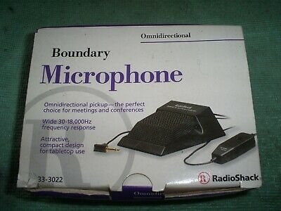 Boundary Microphone Omni Directional With 20 Foot Cable