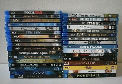 HUGE LOT of (33) BLU-RAY DVD's - All in Great Condition!
