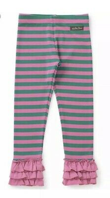 Matilda Jane Take Me Home Leggings Girls Size 6 NWT In Bag Make Believe Stripe