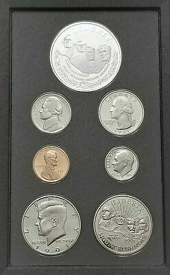 1991 US Mint Mount Rushmore Prestige Proof Coin Set