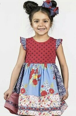 8ffb0171a Matilda Jane In The Stars Dress Girls Size 8 New NWT Wish You Were Here 4th