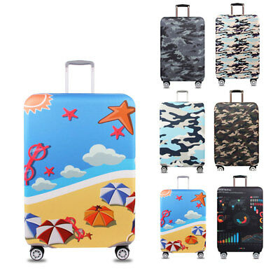 """Elastic 18""""-32"""" Dustproof Protector Trip Luggage Suitcase Thicker Trolley Case"""