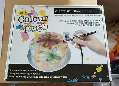 Brand New In Box Colour Splash Airbrush Kit
