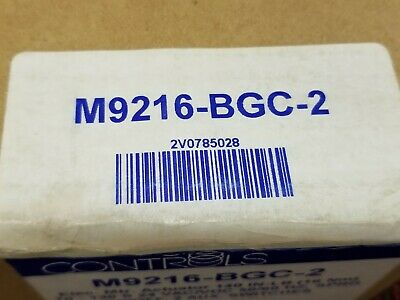 Nos Johnson Controls M9216-Bgc-2 Electric Spring Return Actuator New Free Ship