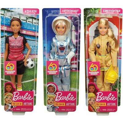 Barbie 60th Anniversary Career Doll - Assorted*