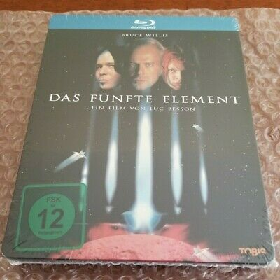 THE FIFTH ELEMENT STEELBOOK [RARE/OOP/NEW/Blu-ray] Germany Import / Region Free