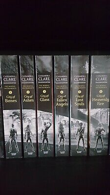 Cassandra Clare The Mortal Instruments Shadowhunters Book Set