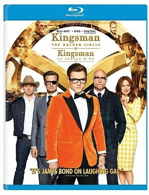 Kingsman 2: The Golden Circle (Bilingual) [Blu-ray + DVD + Digital Copy] *NEW**