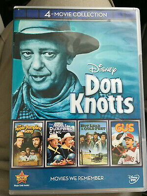 Don Knotts 4-Movie Collection (The Apple Dumpling Gang 1 and 2/Hot Lead/Gus)