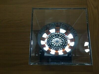 Iron Man ARC REACTOR - ULTRA-Bright White LED MK1 Costume Prop Personalised