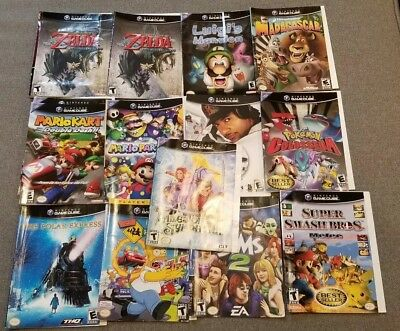 Original Gamecube Cover Art Only, See the list, read the description
