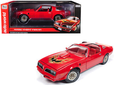 1977 Pontiac Firebird Trans Am Buccaneer Red Limited Edition to 1,002 pieces Wor