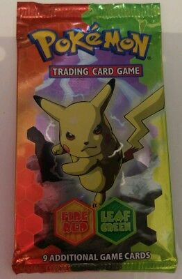 Pokemon ex Fire Red Leaf Green booster pack sealed