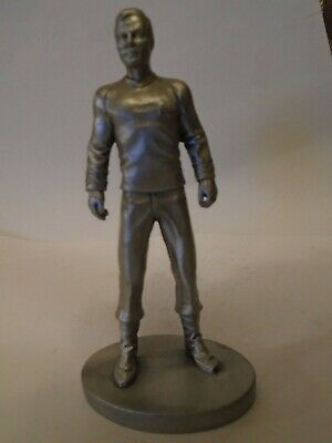 Star Trek Rawcliffe Pewter Captain James T Kirk  Statue Model Not Selangor