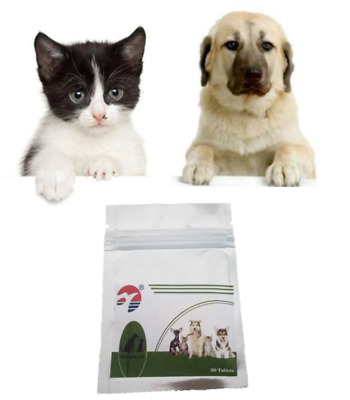 Easy ALL WORM Pet Dewormer for Dog Cat-Broad Spectrum kill parasites 30-90 Tabs