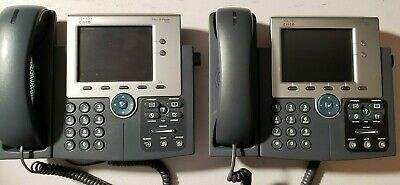 CISCO CP-7945G 7945 VoIP Unified IP Phone PoE SCCP/SIP