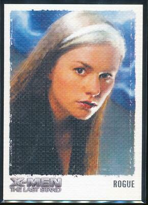 2006 X-Men The Last Stand Art and Images Trading Card #ART7 Rogue