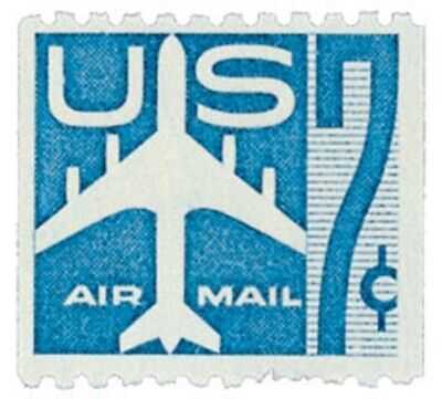 C52 - Silhouette of Jet - US Mint Airmail Stamp