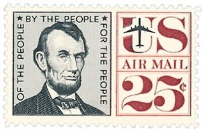 C59 - Abraham Lincoln - US Mint Airmail Stamp