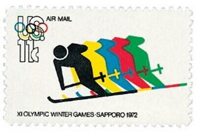 C85 - Olympics - US Mint Airmail Stamp