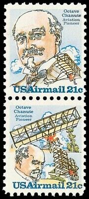 C93-94 - Octave Chanute - US Mint Airmail Stamps