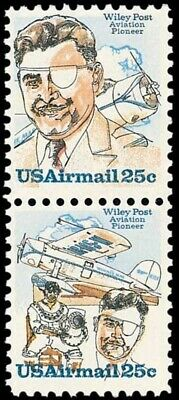 C95-96 - Wiley Post - US Mint Airmail Stamps