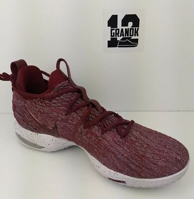 92f5c717cb4d NIKE LEBRON JAMES 15 XV Low Taupe Grey Team Red Vast Grey AO1755-200 ...